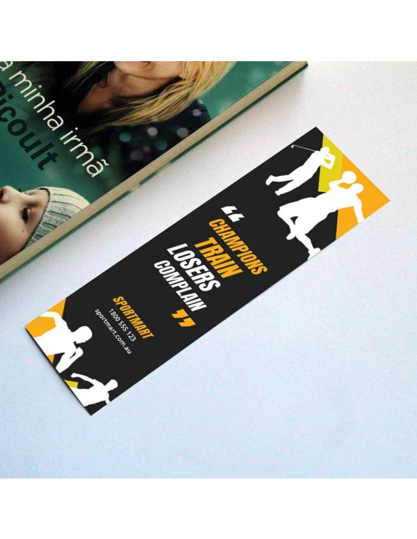 Bookmarks - 210 x 55mm (Recycled)