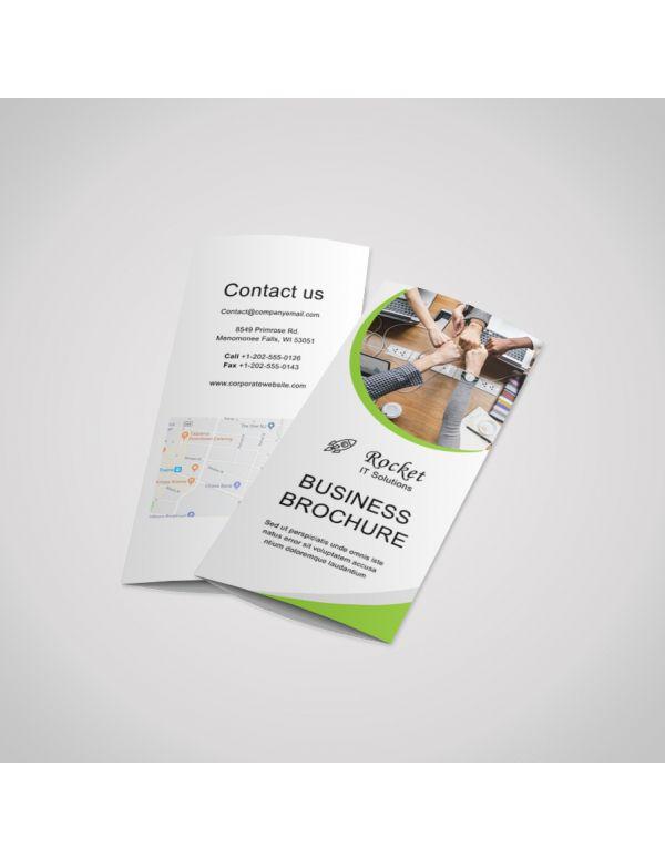 Brochures DL (A4 folded to DL)