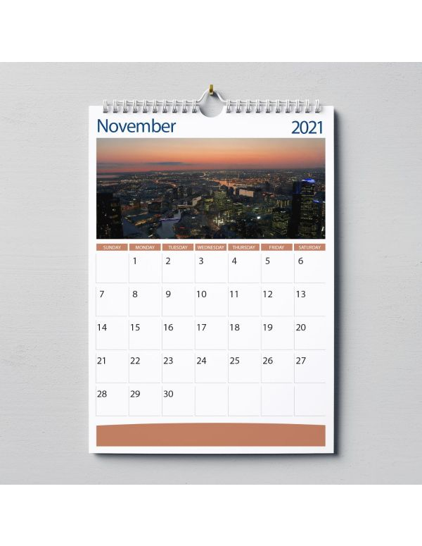 Wall Calendars A3 - Wire Bound