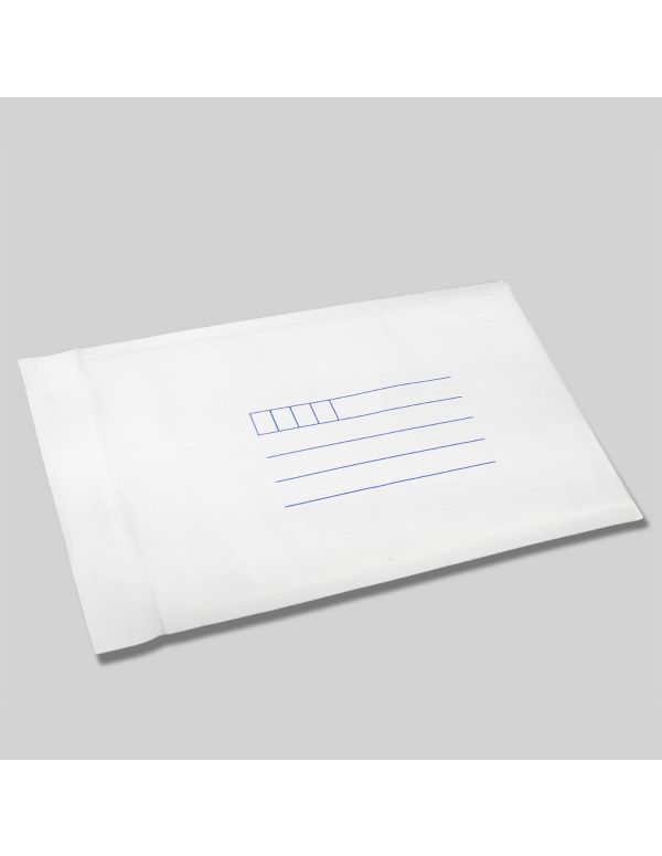 Bubble Padded Envelopes - White with Address Lines