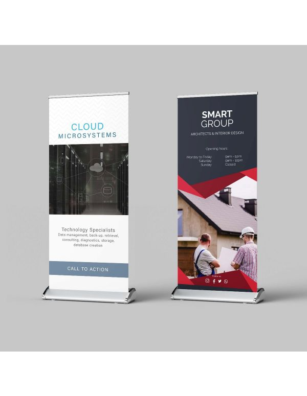 Pull up Banners - PREMIUM
