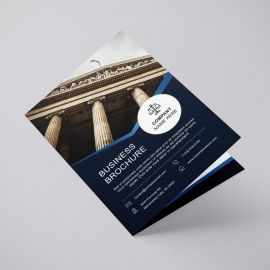 Brochures A5 (A4 folded to A5)
