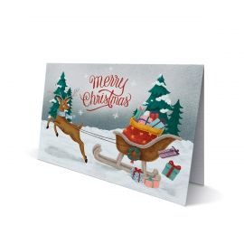 Christmas Cards - Double DL