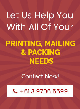 printing,mailing and packing needs